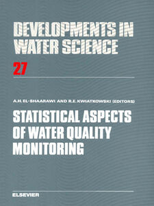 Ebook in inglese Statistical Aspects of Water Quality Monitoring -, -