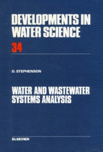 Ebook in inglese Water and Wastewater Systems Analysis Stephenson, D.J.