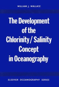 Ebook in inglese Development of the Chlorinity/ Salinity Concept in Oceanography -, -