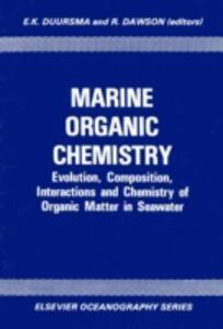 Ebook in inglese Marine Organic Chemistry -, -