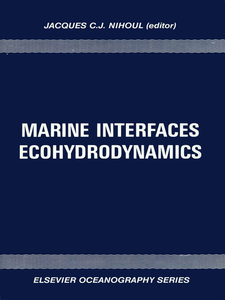 Ebook in inglese Marine Interfaces Ecohydrodynamics -, -