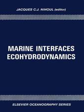 Marine Interfaces Ecohydrodynamics