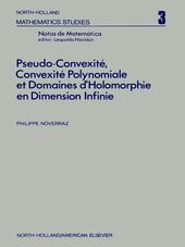 Pseudo-convexite?, convexite? polynomiale et domaines d?holomorphie en dimension infinie