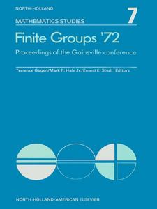 Ebook in inglese Finite groups ?72 -, -