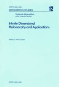 Foto Cover di Infinite dimensional holomorphy and applications, Ebook inglese di  edito da Elsevier Science