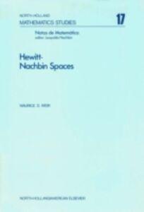 Ebook in inglese Hewitt-Nachbin spaces