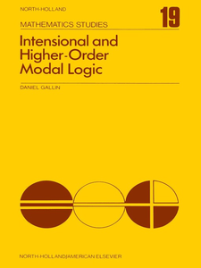 Ebook in inglese Intensional and higher-order modal logic -, -