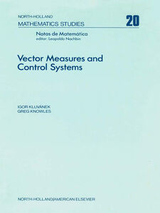 Ebook in inglese Vector measures and control systems