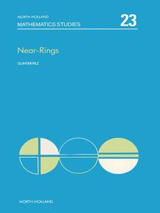 Ebook in inglese Near-rings