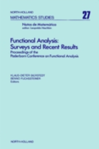 Ebook in inglese Functional analysis : surveys and recent results -, -