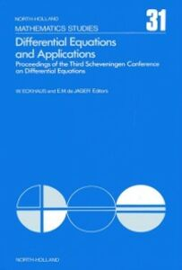 Ebook in inglese Differential equations and applications