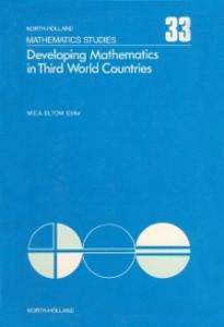 Ebook in inglese Developing mathematics in Third World countries -, -