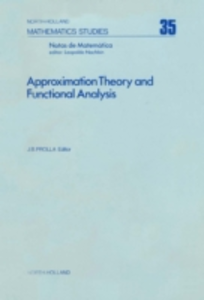Ebook in inglese Approximation theory and functional analysis -, -