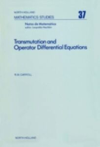 Ebook in inglese Transmutation and operator differential equations -, -