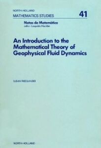 Ebook in inglese introduction to the mathematical theory of geophysical fluid dynamics