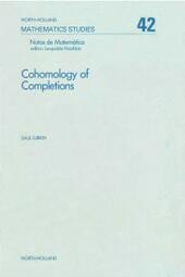 Cohomology of completions