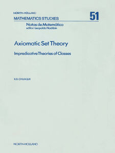 Ebook in inglese Axiomatic Set Theory Chuaqui, R.B.