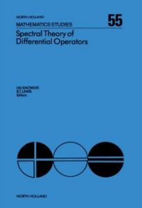 Foto Cover di Spectral Theory of Differential Operators, Ebook inglese di  edito da Elsevier Science