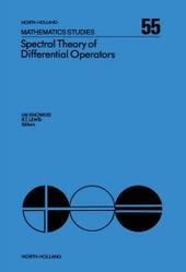Spectral Theory of Differential Operators