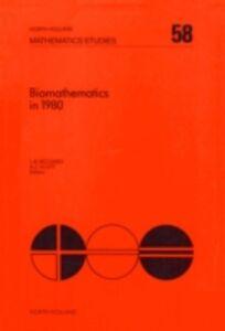 Ebook in inglese Biomathematics in 1980 -, -