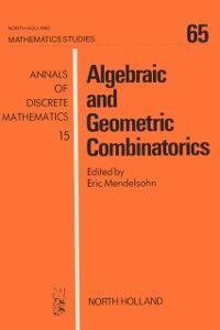 Ebook in inglese Algebraic and Geometric Combinatorics -, -