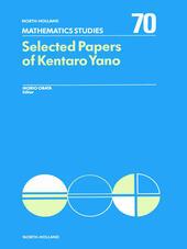 Selected Papers of Kentaro Yano