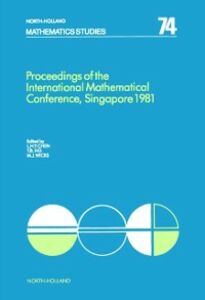 Foto Cover di Proceedings of the International Mathematical Conference, Singapore 1981, Ebook inglese di  edito da Elsevier Science