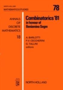 Ebook in inglese Combinatorics '81 -, -