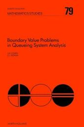 Boundary Value Problems in Queueing System Analysis
