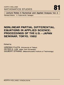 Ebook in inglese Nonlinear Partial Differential Equations in Applied Science