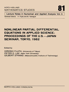 Ebook in inglese Nonlinear Partial Differential Equations in Applied Science -, -