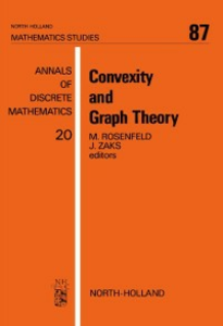Ebook in inglese Convexity and Graph Theory -, -