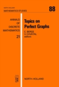 Ebook in inglese Topics on Perfect Graphs -, -
