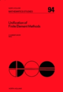 Ebook in inglese Unification of Finite Element Methods -, -