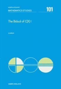 Foto Cover di Bidual of C(X) I, Ebook inglese di S. Kaplan, edito da Elsevier Science