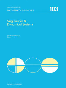 Ebook in inglese Singularities & Dynamical Systems -, -