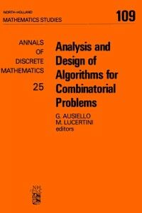 Ebook in inglese Analysis and Design of Algorithms for Combinatorial Problems