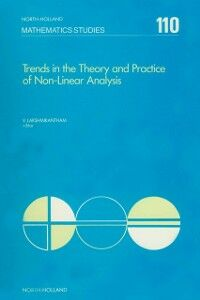 Ebook in inglese Trends in the theory and practice of non-linear analysis -, -