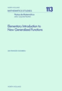 Ebook in inglese Elementary Introduction to New Generalized Functions Colombeau, J.F.