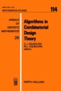 Ebook in inglese Algorithms in Combinatorial Design Theory -, -