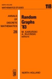 Foto Cover di Random Graphs '83, Ebook inglese di  edito da Elsevier Science