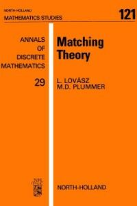 Ebook in inglese Matching Theory Lovasz, L. , Plummer, M.D.