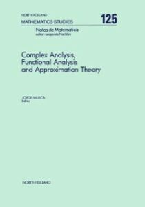 Ebook in inglese Complex Analysis, Functional Analysis and Approximation Theory