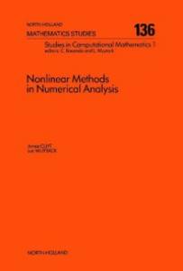 Ebook in inglese Nonlinear Methods in Numerical Analysis Cuyt, A. , Wuytack, L.