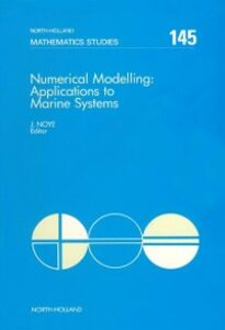 Ebook in inglese Numerical Modelling: Applications to Marine Systems