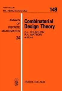 Ebook in inglese Combinatorial Design Theory -, -