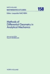 Ebook in inglese Methods of Differential Geometry in Analytical Mechanics Leon, M. de , Rodrigues, P.R.