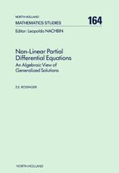 Non-Linear Partial Differential Equations
