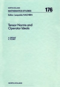 Ebook in inglese Tensor Norms and Operator Ideals Defant, A. , Floret, K.