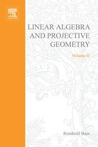 Ebook in inglese Linear algebra and projective geometry -, -